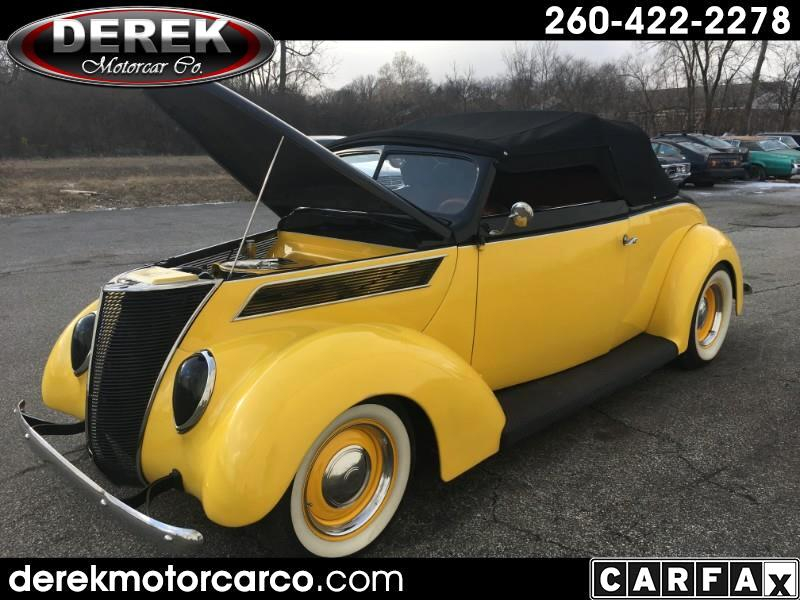 1937 Ford Roadster Custom Hot Rod Convertible