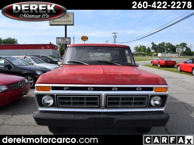 1976 Ford 1/2 Ton Trucks F100