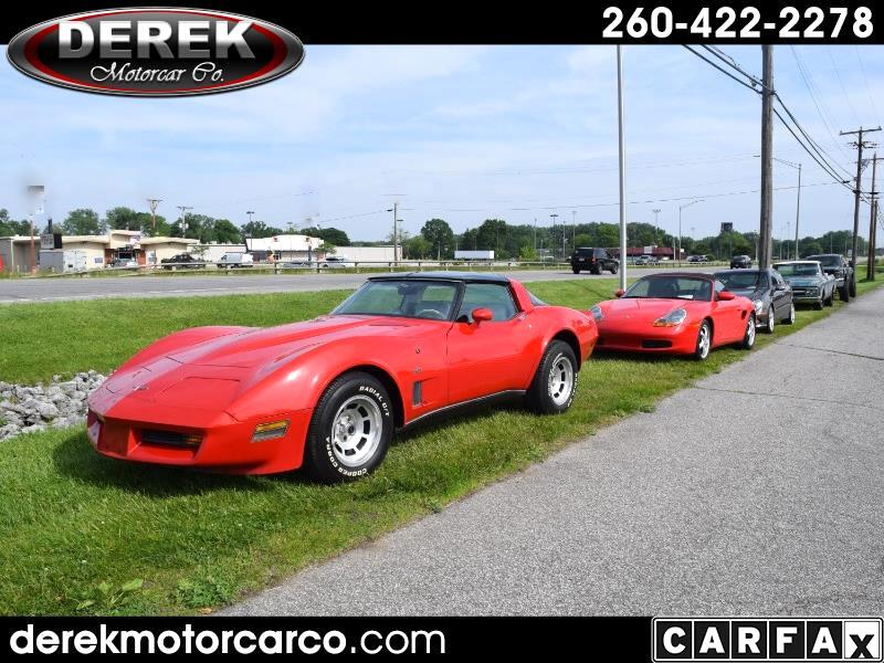 1980 Chevrolet Corvette 2dr Cpe