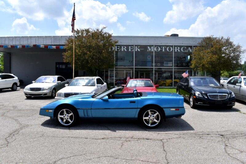 1989 Chevrolet Corvette Convertible