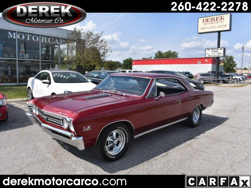 1967 Chevrolet Chevelle Malibu SS 2-Door Coupe