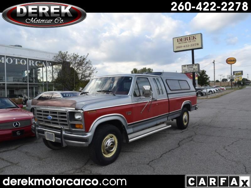 Ford F-250 SuperCab 2WD 1984