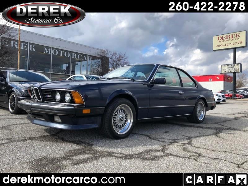 BMW M6 Base 1987
