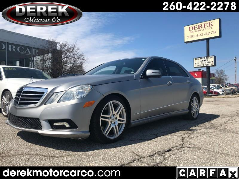 Mercedes-Benz E-Class E350 Sedan 2011