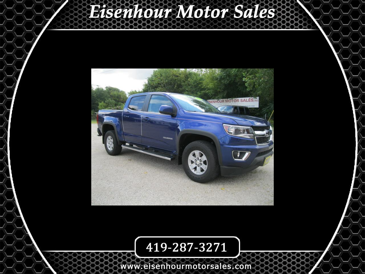 Chevrolet Colorado Work Truck Crew Cab 4WD Short Box 2016