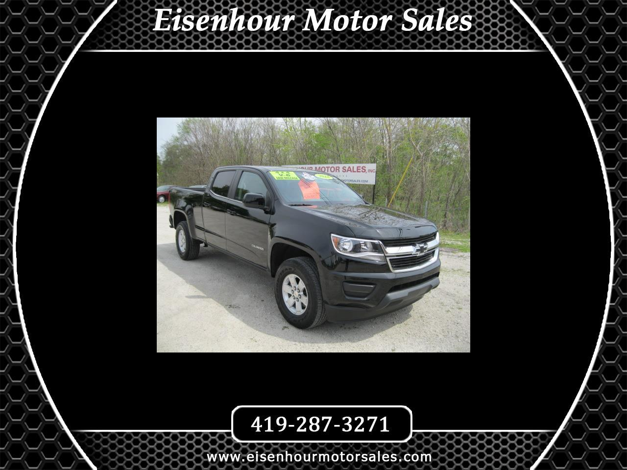 Chevrolet Colorado Work Truck Crew Cab 4WD Long Box 2018