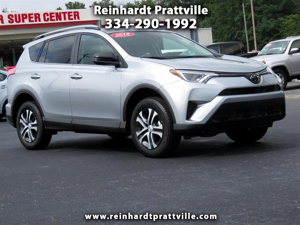 Perfect Used 2018 Toyota RAV4 For Sale In Prattville, AL 36066 Reinhardt Prattville