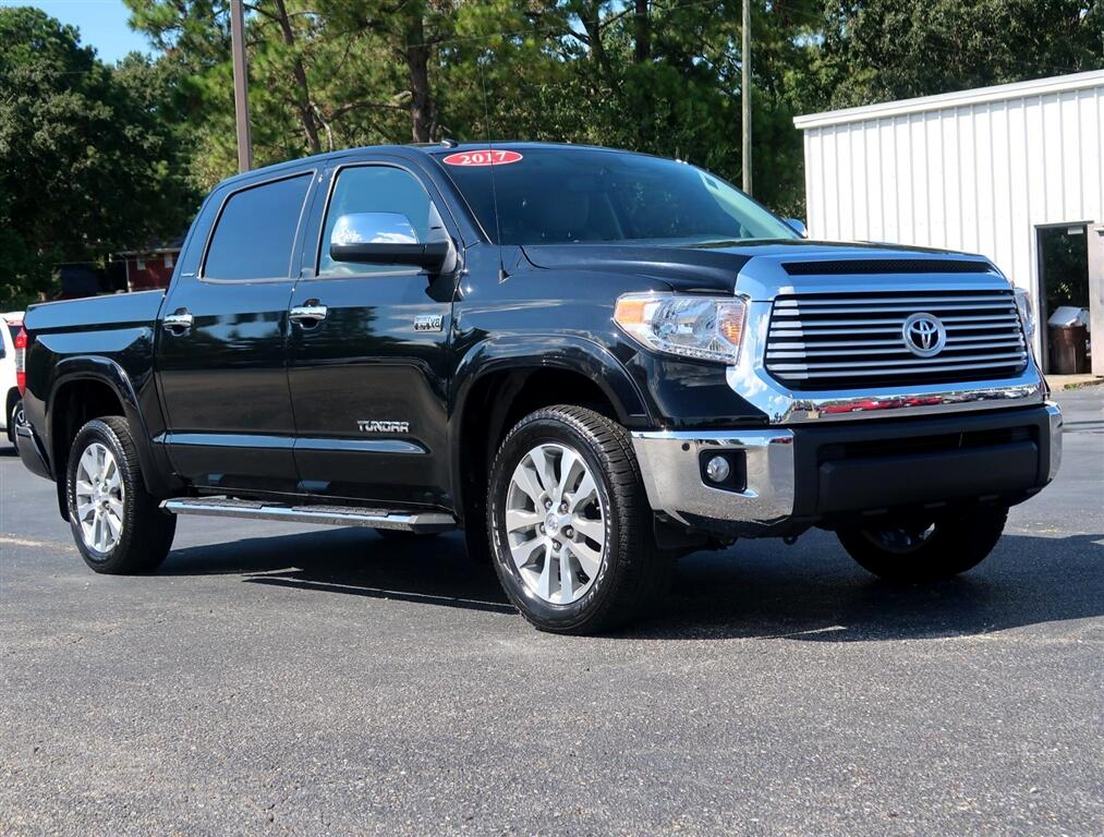 2017 Toyota Tundra 2WD Limited CrewMax 5.5' Bed 5.7L FFV (Natl)