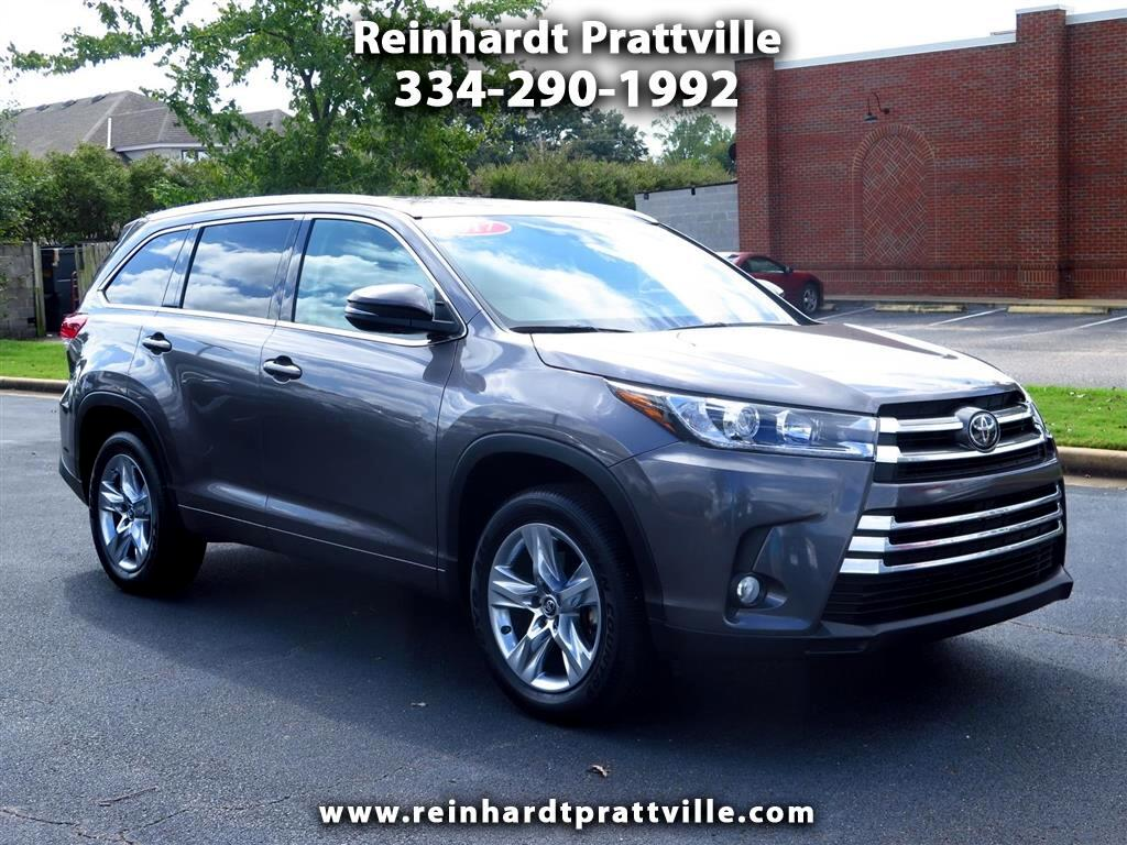 2017 Toyota Highlander Limited V6 FWD (Natl)