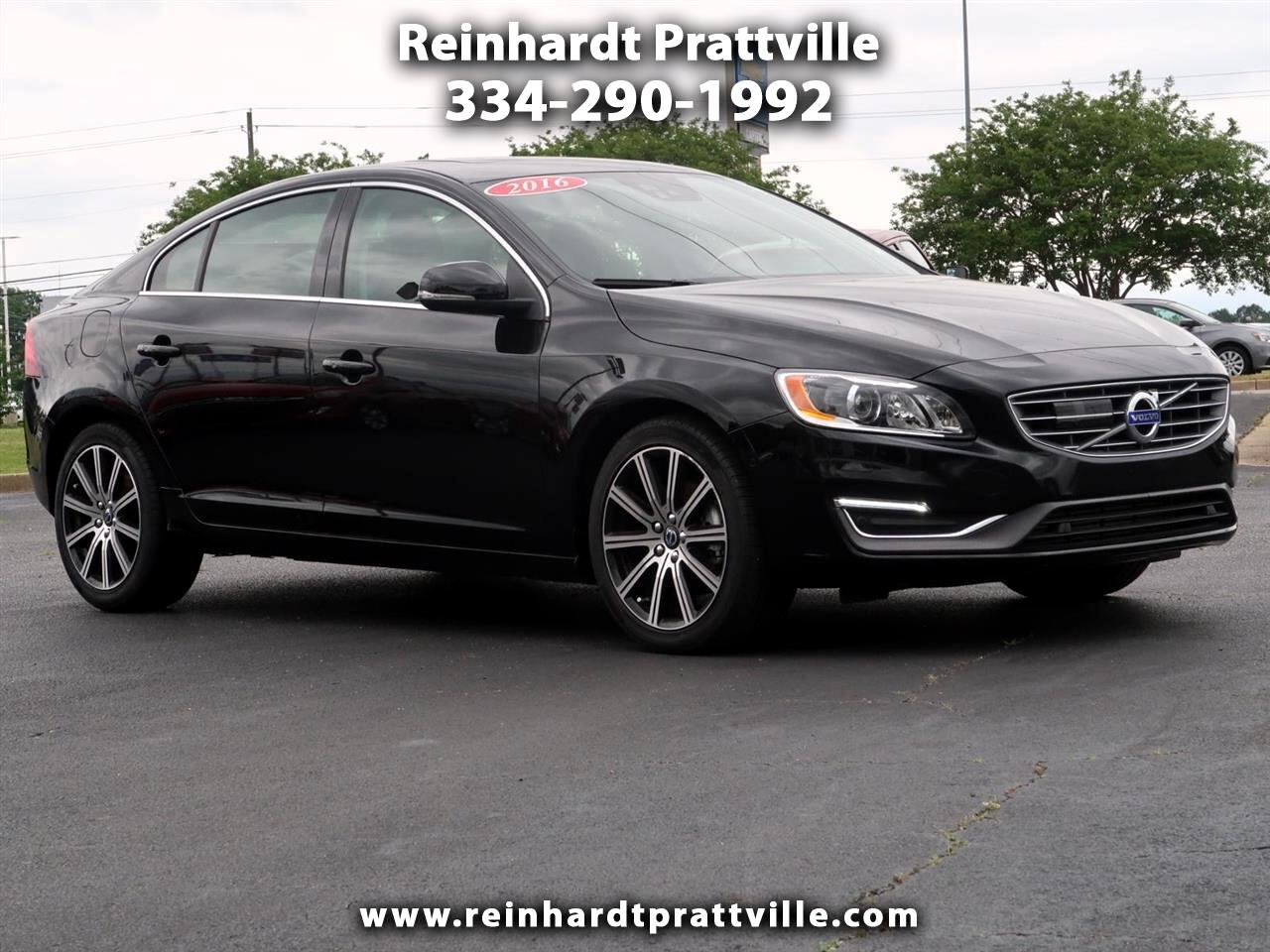 2016 Volvo S60 Inscription 4dr Sdn T5 Drive-E Platinum FWD