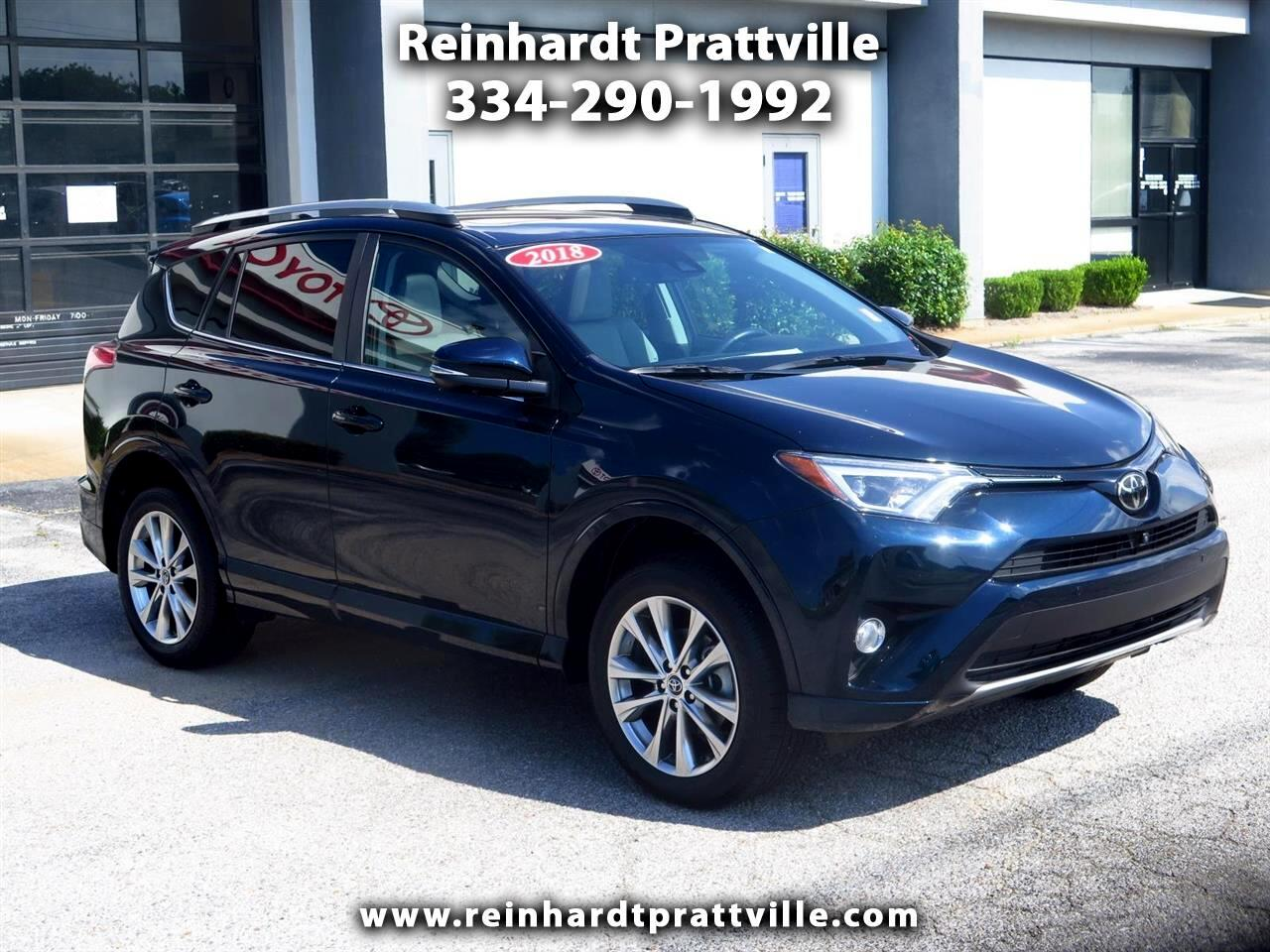 2018 Toyota RAV4 Limited AWD (Natl)