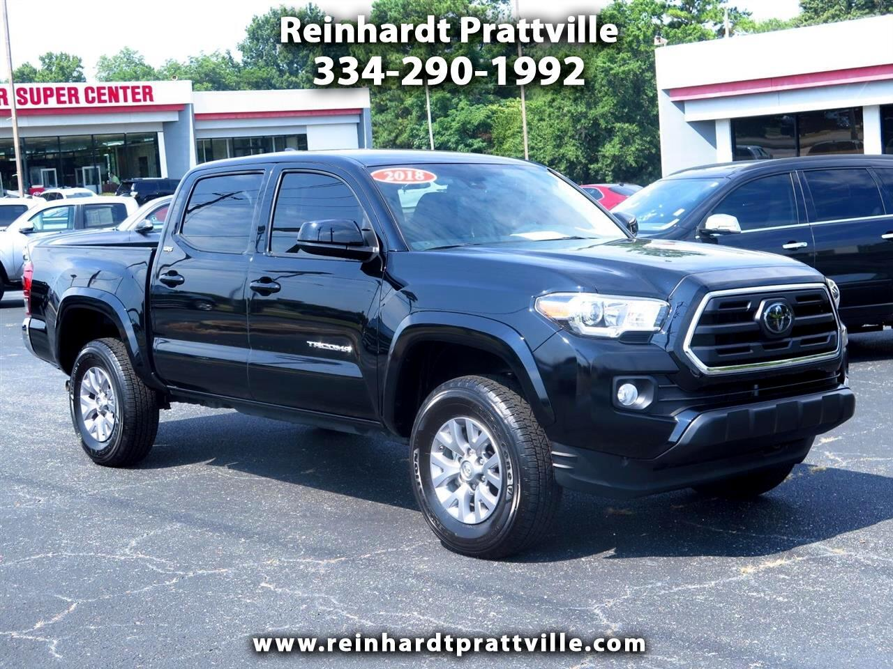 2018 Toyota Tacoma SR5 Double Cab 5' Bed V6 4x2 AT (Natl)