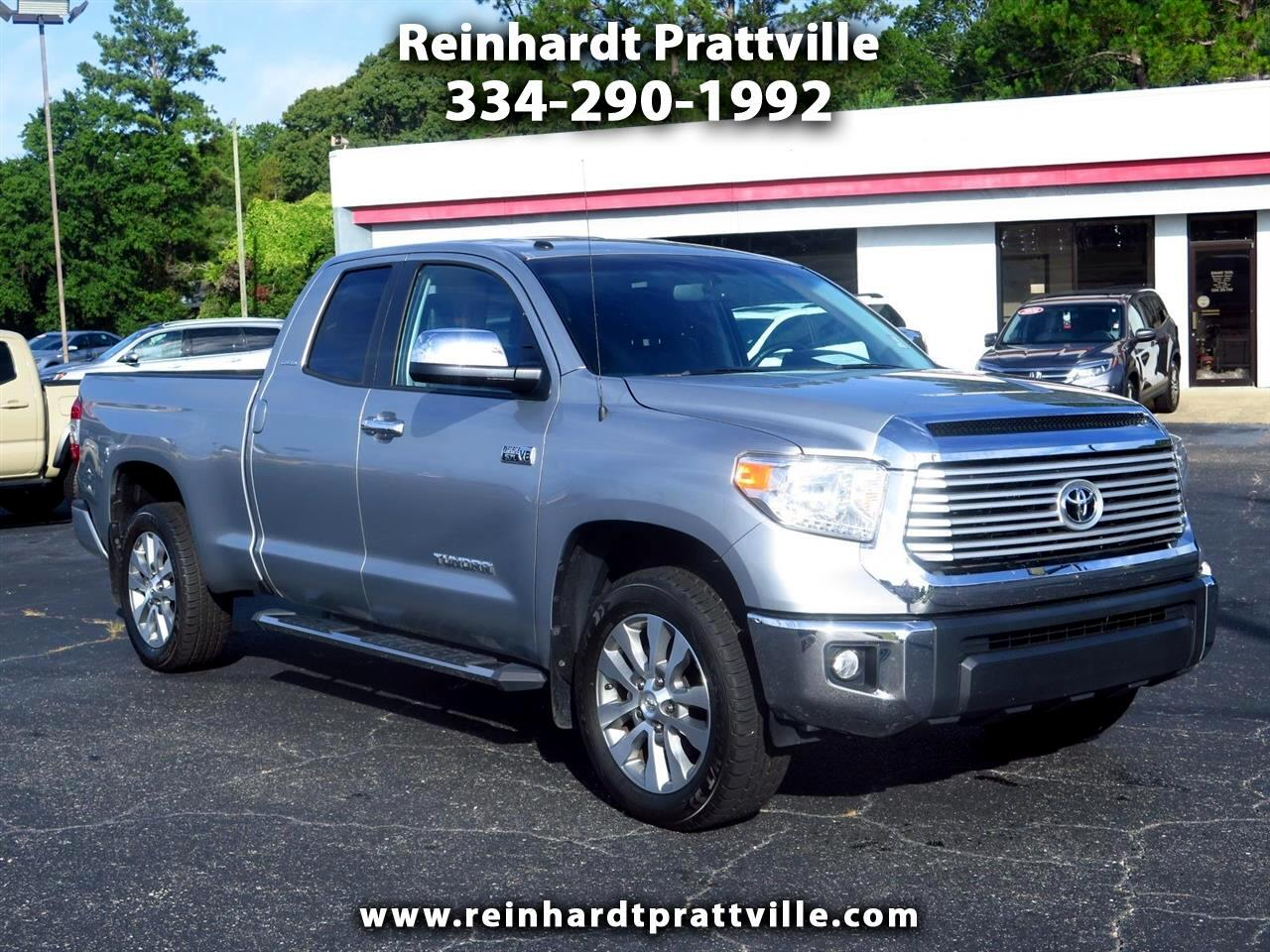 2016 Toyota Tundra 2WD Truck Double Cab 5.7L FFV V8 6-Spd AT LTD (Natl)