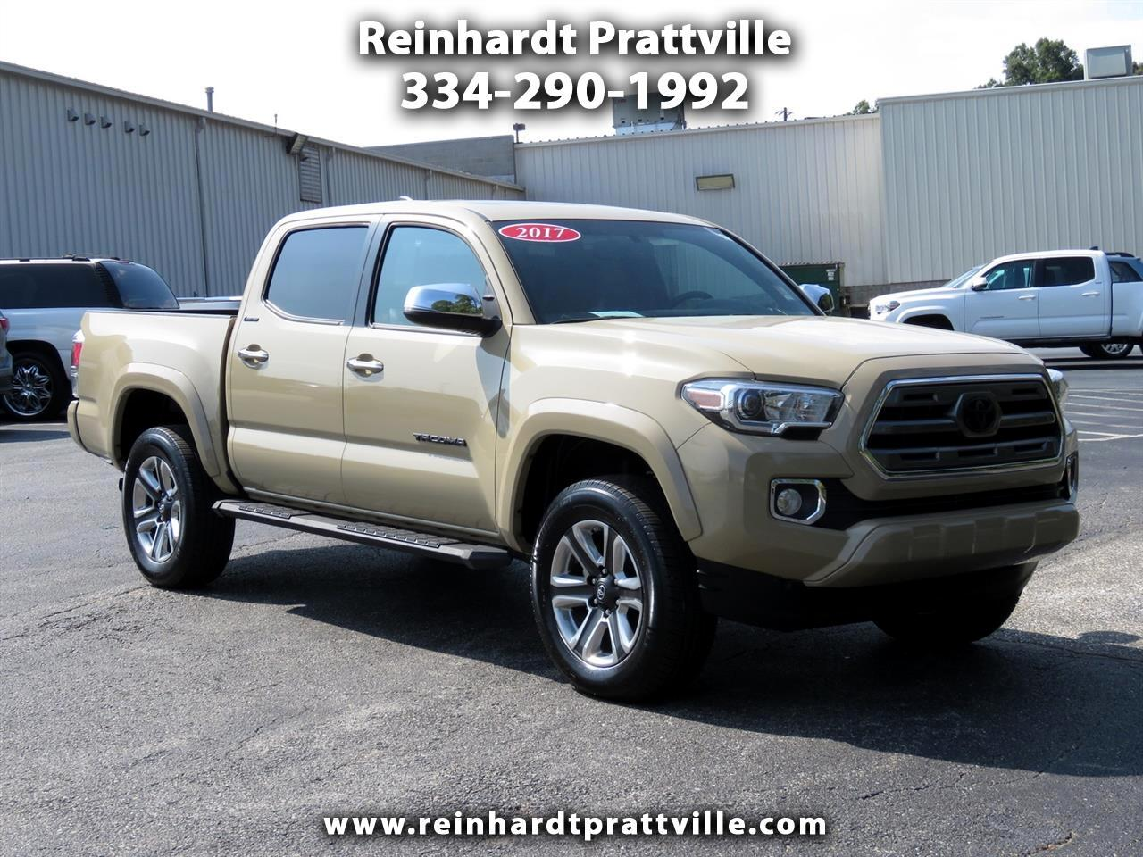 2017 Toyota Tacoma Limited Double Cab 5' Bed V6 4x4 AT (Natl)