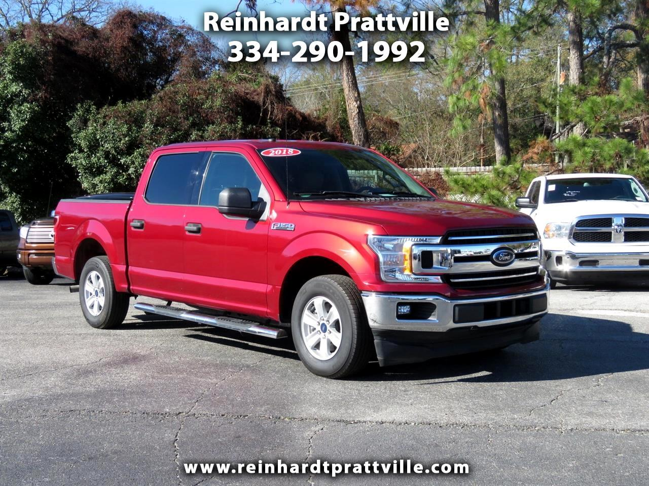 Ford F-150 Lariat 2WD SuperCrew 5.5' Box 2018