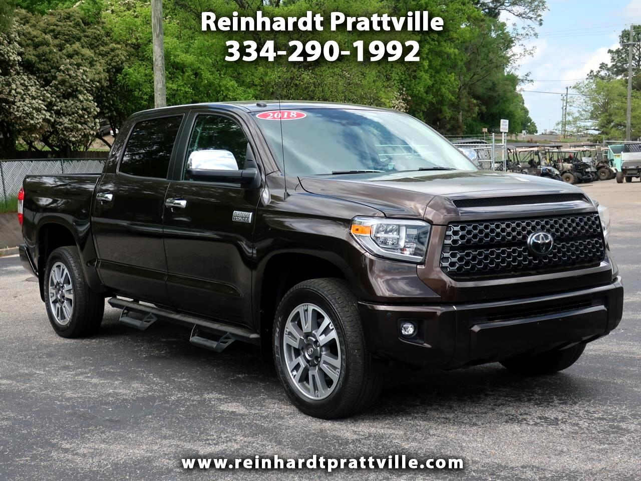 Toyota Tundra 4WD 1794 Edition CrewMax 5.5' Bed 5.7L FFV (Natl) 2018