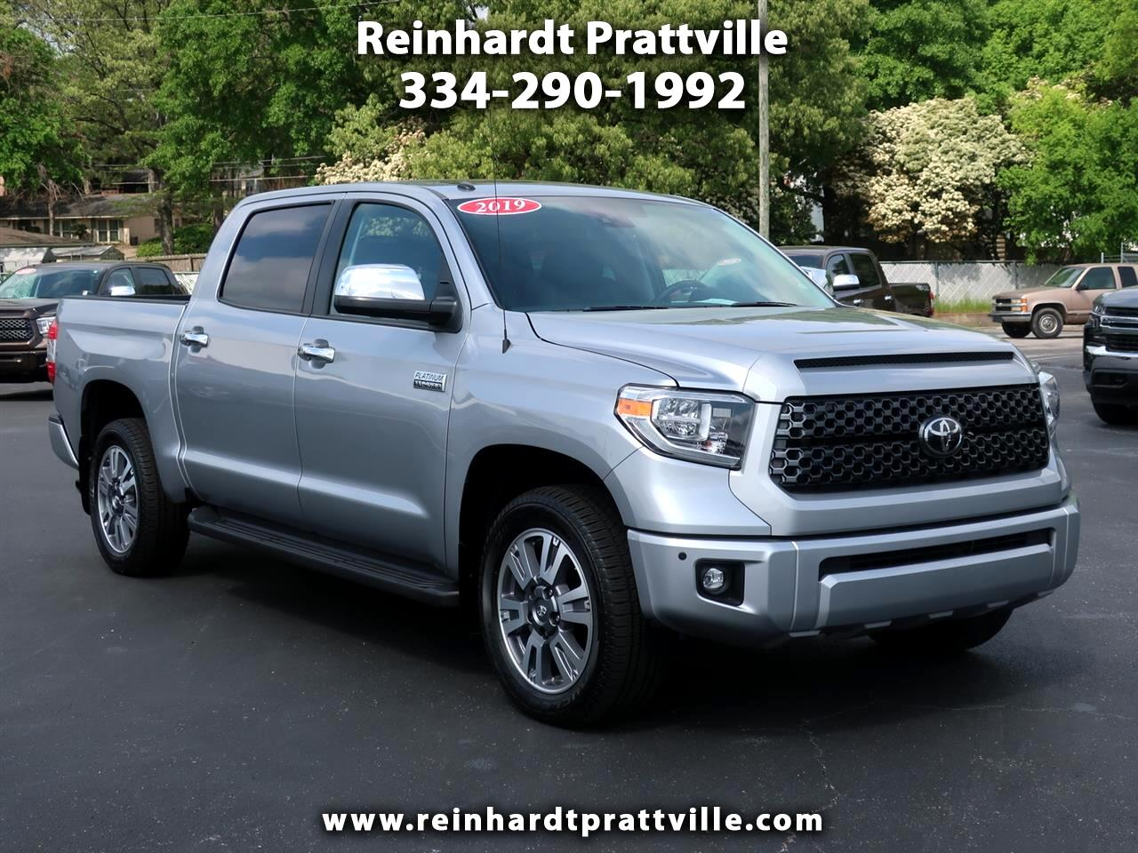 Toyota Tundra 2WD 1794 Edition CrewMax 5.5' Bed 5.7L (Natl) 2019