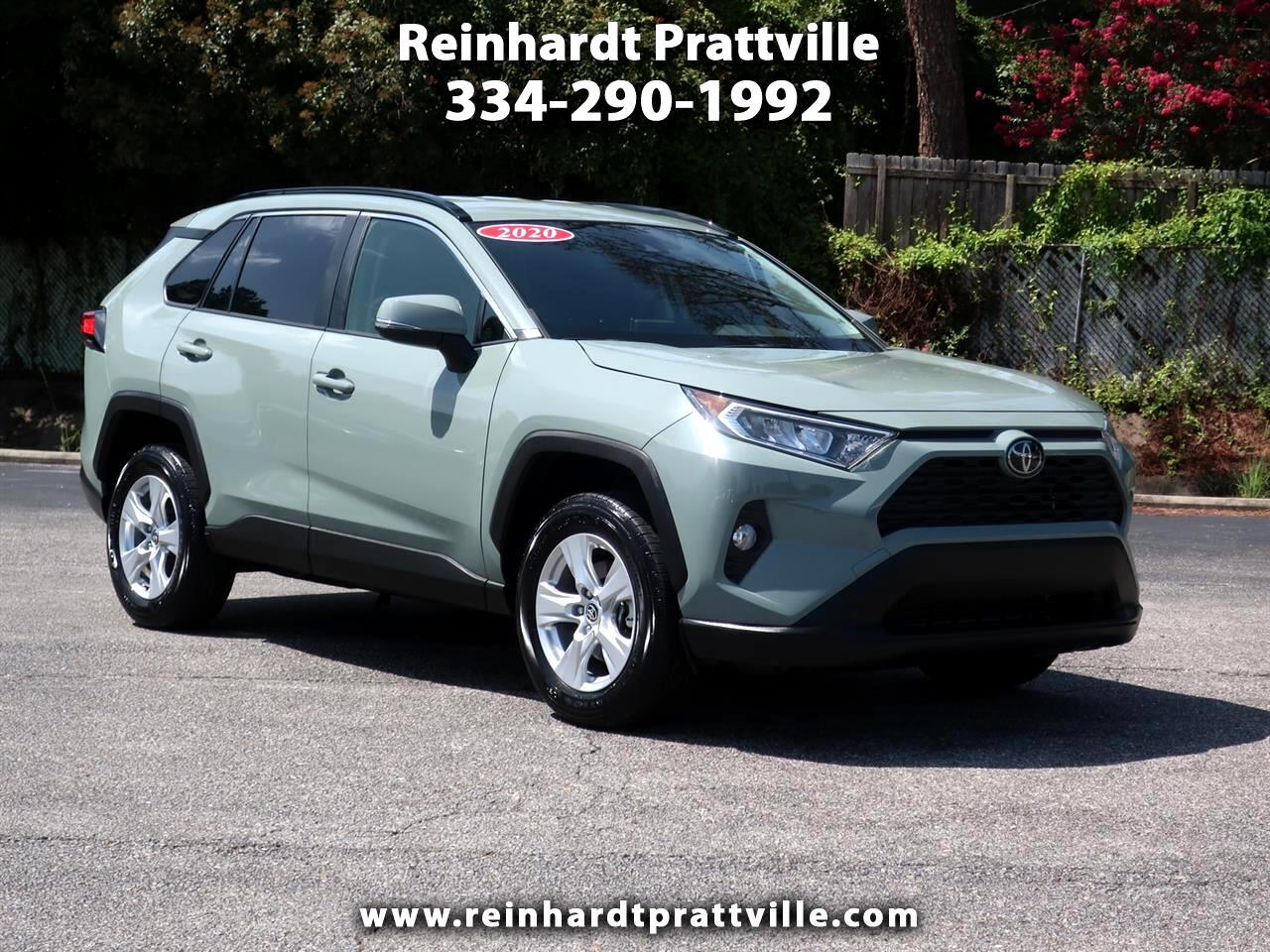 Toyota RAV4 XLE FWD (Natl) 2020