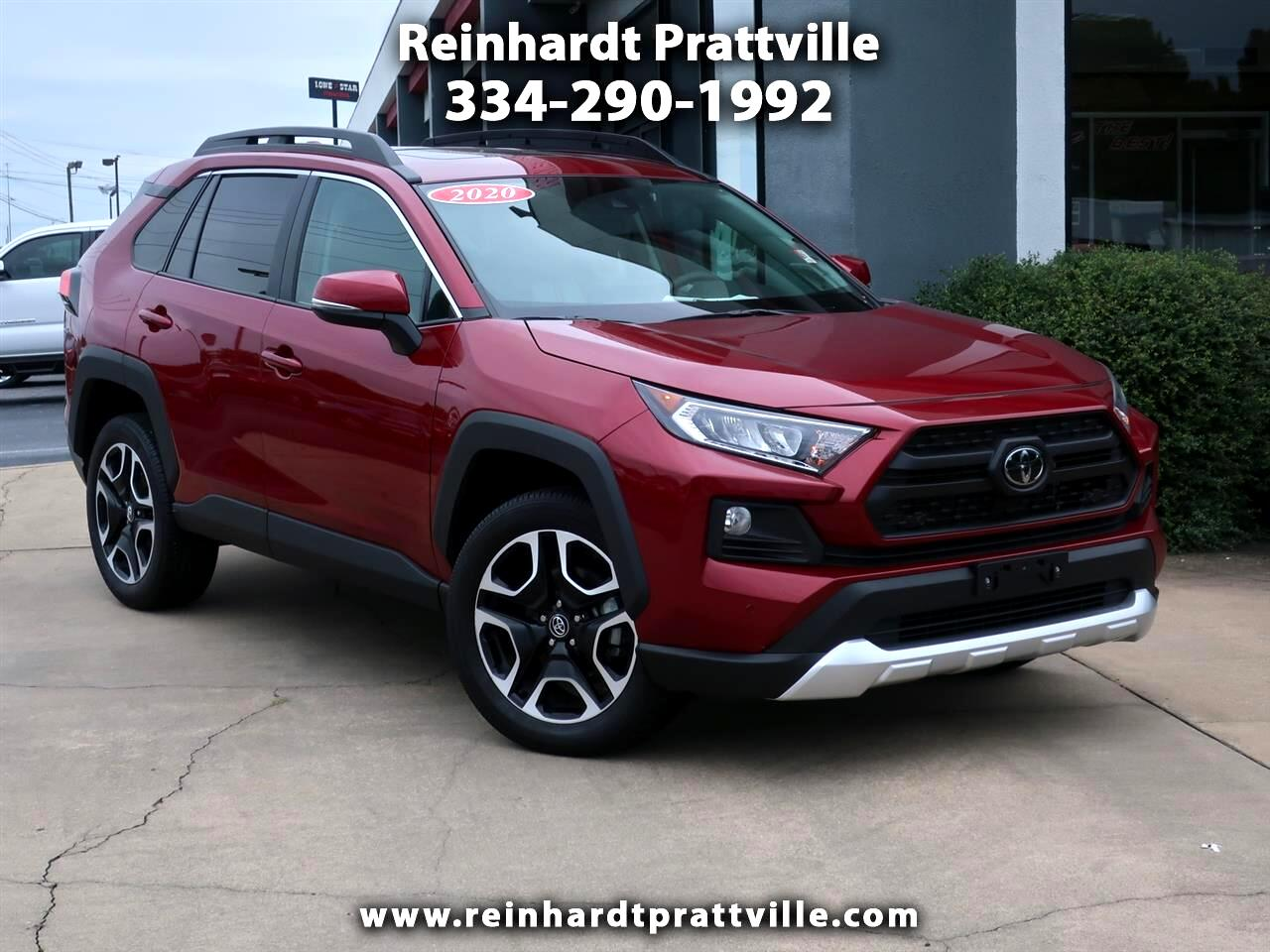 Toyota RAV4 TRD Off Road AWD (Natl) 2020