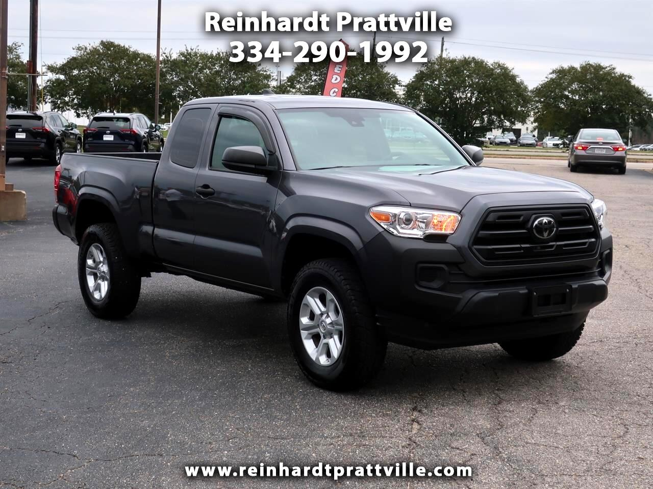 Toyota Tacoma SR5 Access Cab 6' Bed I4 4x2 AT (Natl) 2018