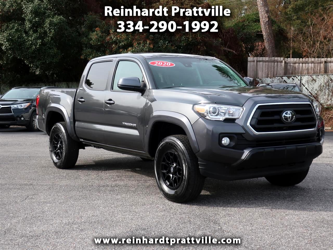 Toyota Tacoma 2WD TRD Off Road Double Cab 5' Bed V6 AT (Natl) 2020