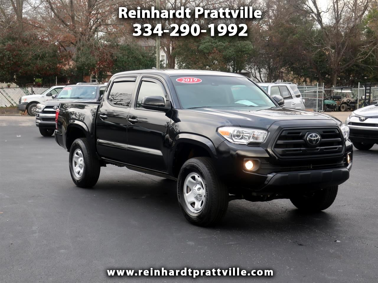 Toyota Tacoma 4WD TRD Off Road Double Cab 5' Bed V6 MT (Natl) 2019
