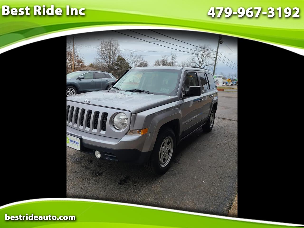 Jeep Patriot FWD 4dr Sport 2015