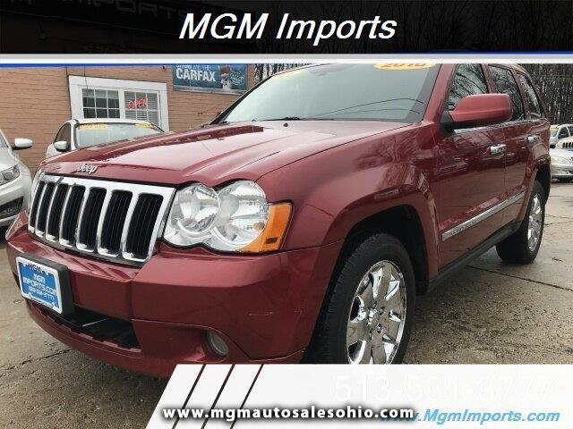 Jeep Grand Cherokee Limited 4WD 2010