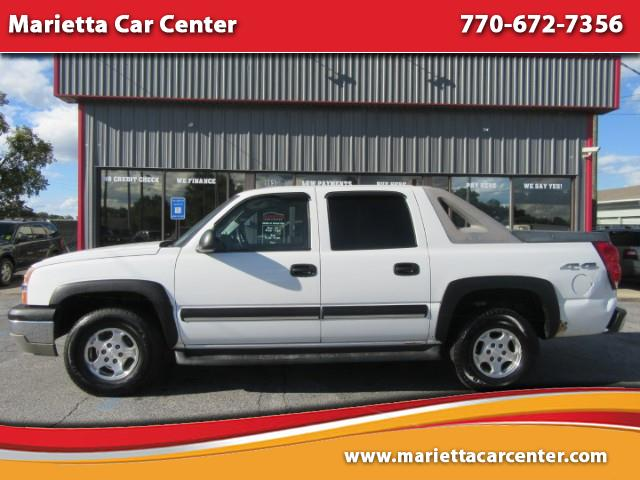 2004 Chevrolet Avalanche 1500 4WD