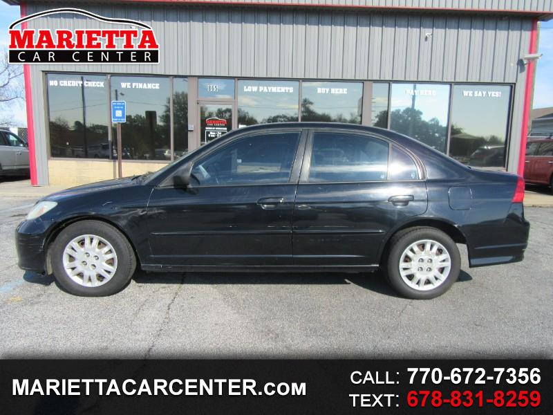 2004 Honda Civic LX Sedan AT