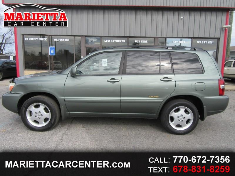 2006 Toyota Highlander 4WD 4dr V6 Limited w/3rd Row (Natl)