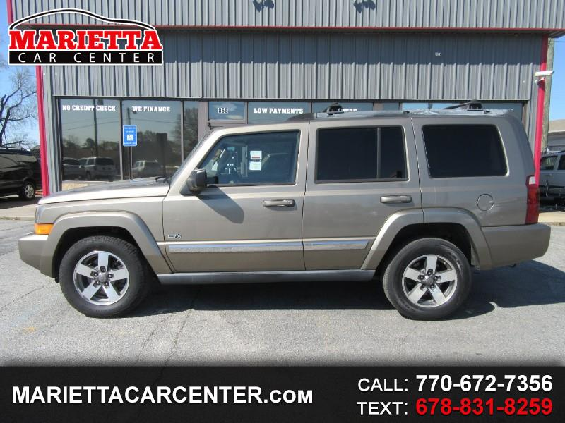 2006 Jeep Commander 4WD 65TH Anniversary Sunroof