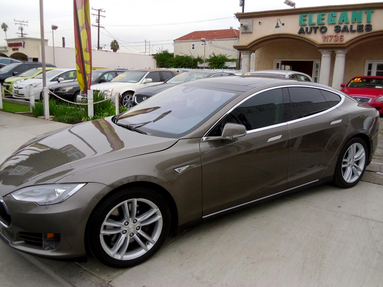 buy here pay here 2015 tesla model s 70 for sale in hawthorne ca 90250 elegant auto sales. Black Bedroom Furniture Sets. Home Design Ideas
