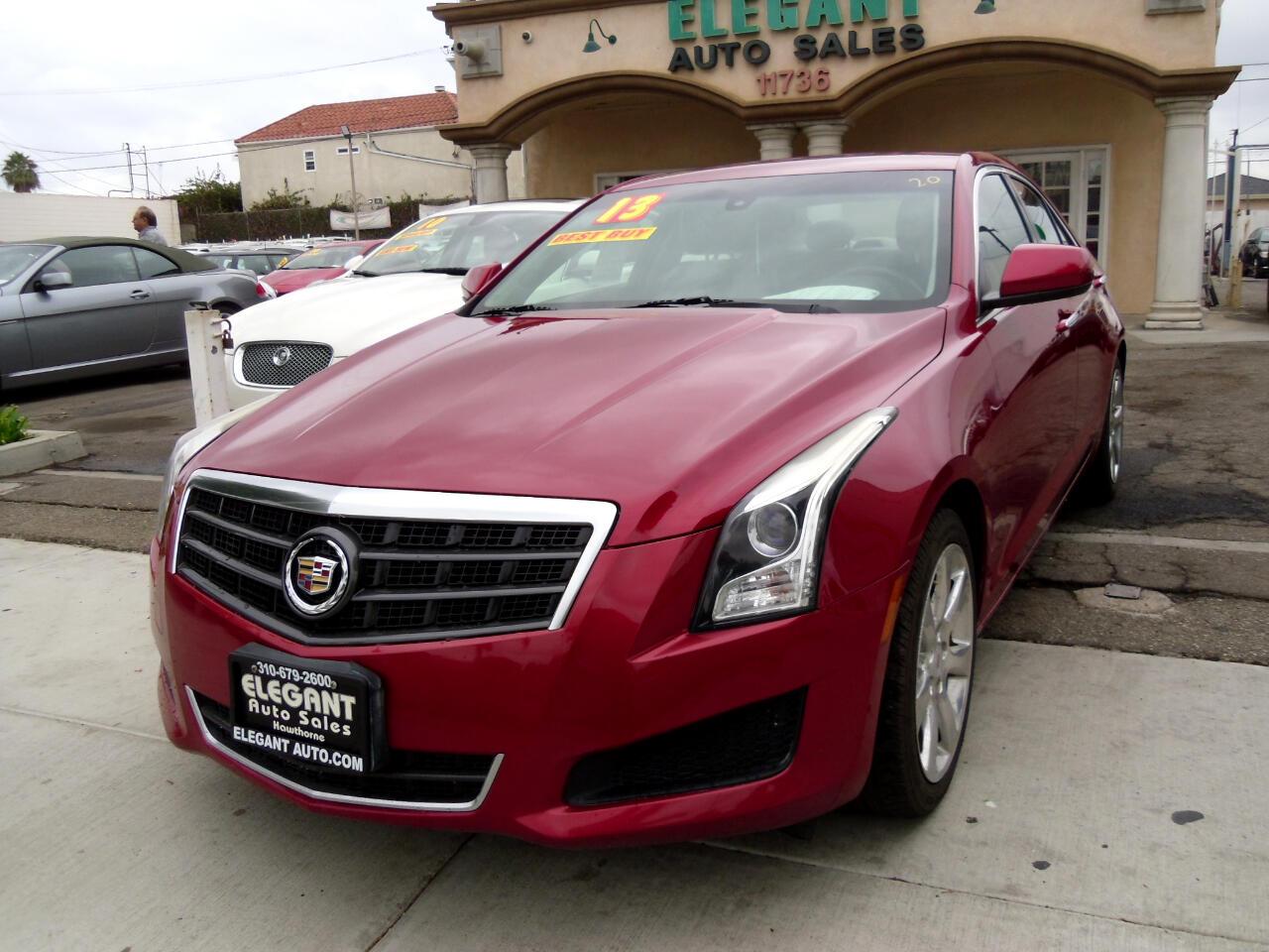 2013 Cadillac ATS 4dr Sdn 2.5L RWD