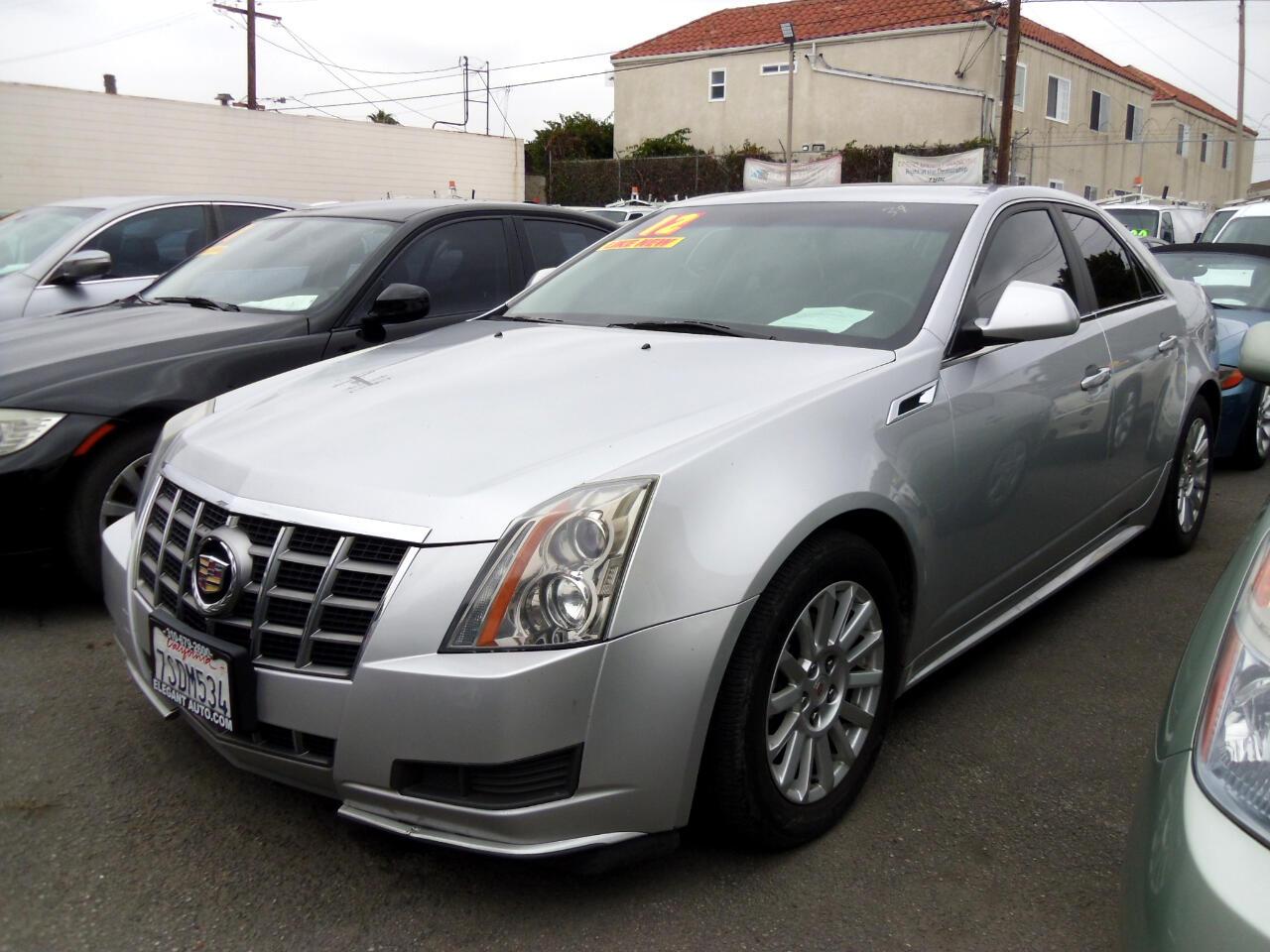 2012 Cadillac CTS Sedan 4dr Sdn 3.0L AWD