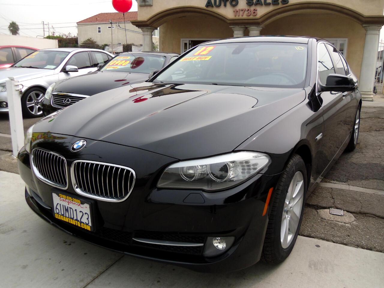 BMW 5 Series 4dr Sdn 528i RWD 2012