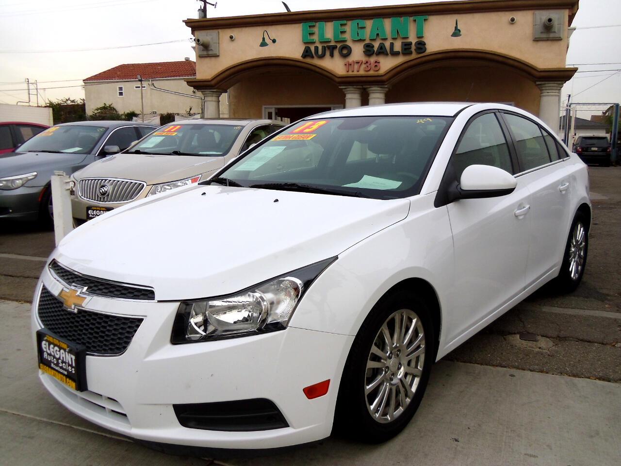 Chevrolet Cruze 4dr Sdn Auto ECO 2013