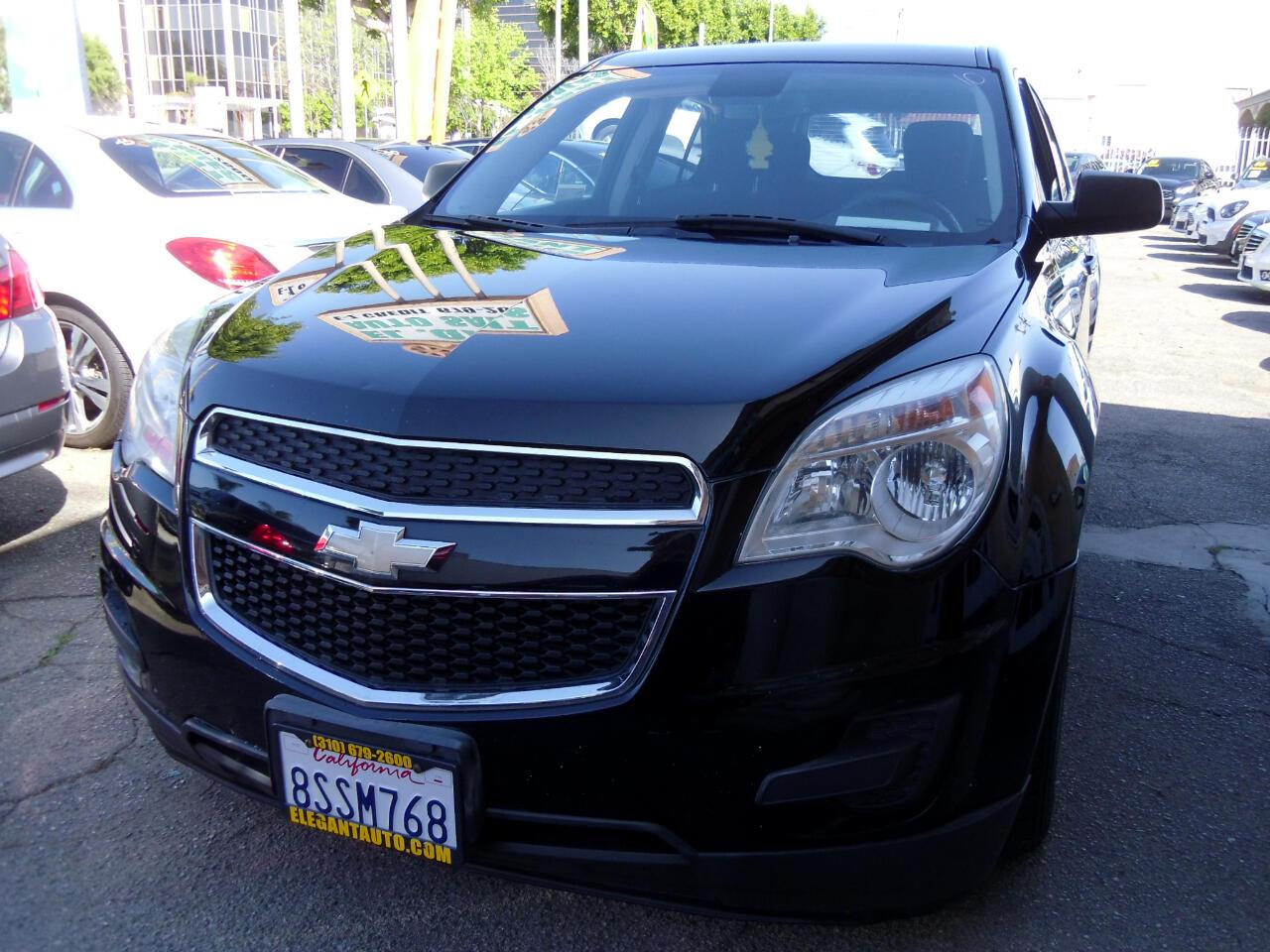 Chevrolet Equinox AWD 4dr LS 2012
