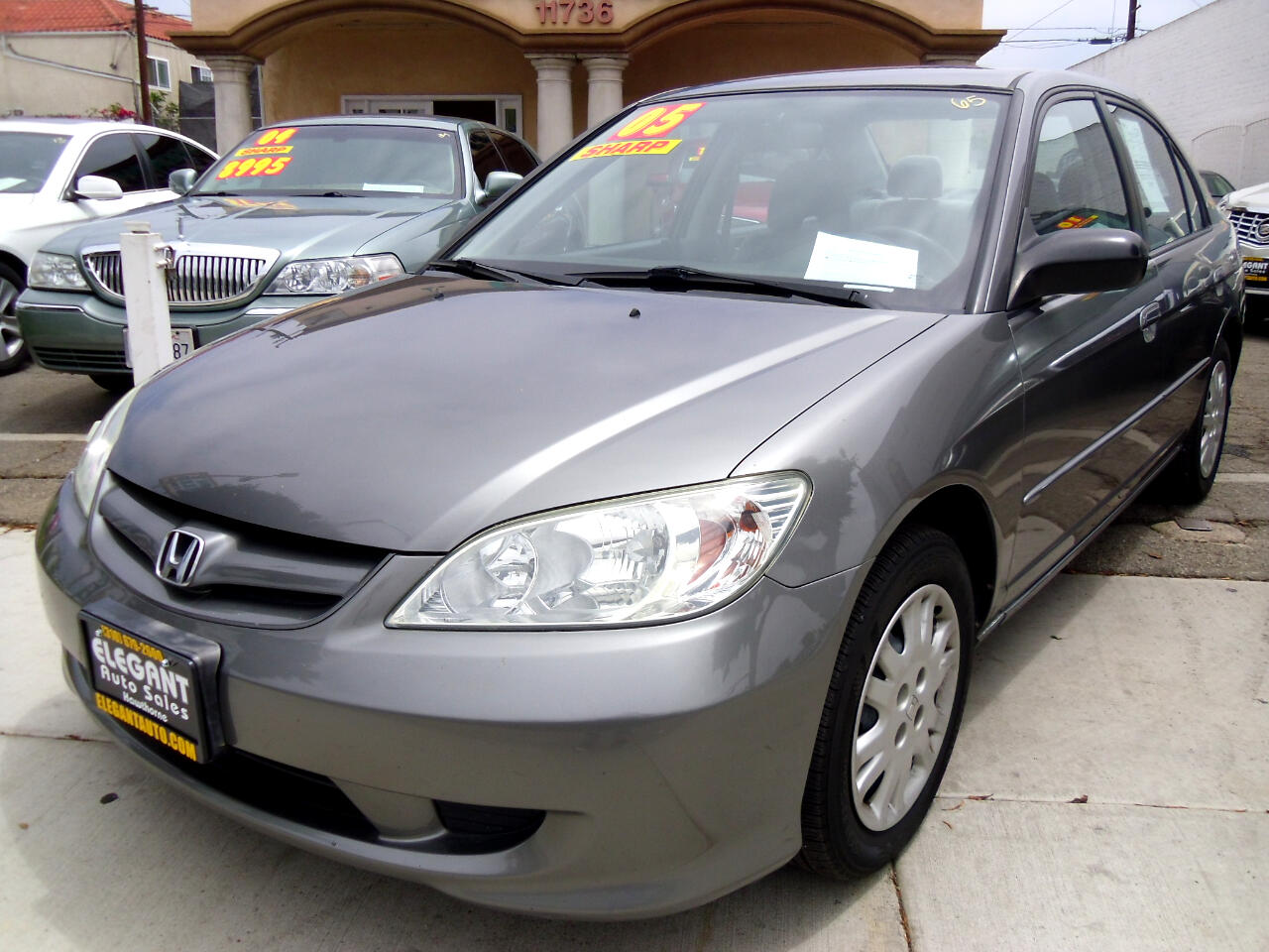 Honda Civic Sdn LX AT 2005