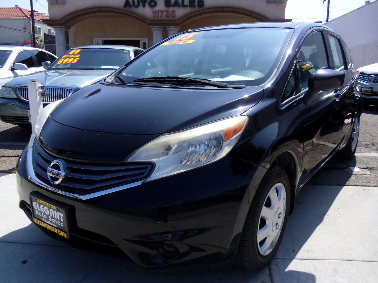 Nissan Versa Note 5dr HB Manual 1.6 S 2015
