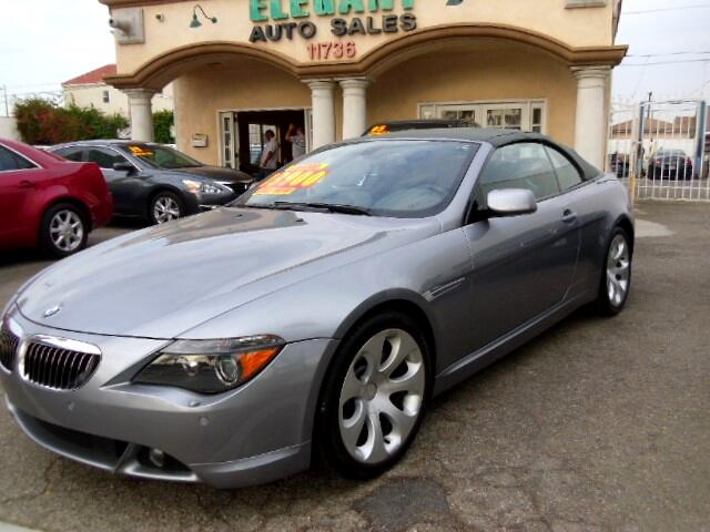 2005 BMW 6-Series 645Ci 2dr Convertible