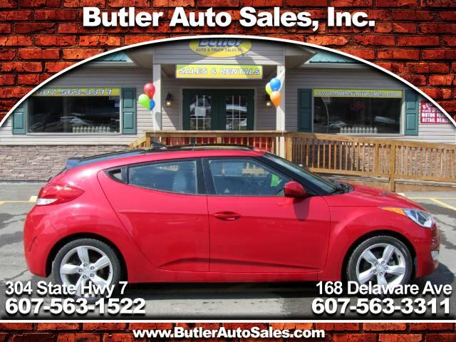 2014 Hyundai Veloster 3dr Cpe Man w/Gray Int