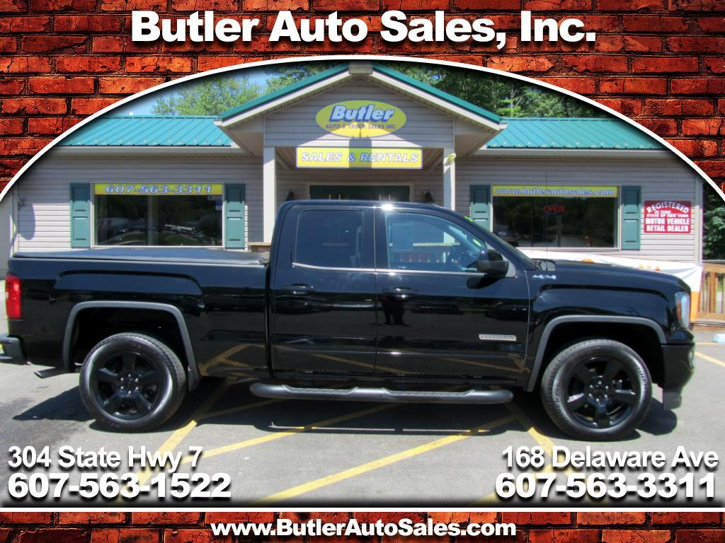 2016 GMC Sierra 1500 Elevetion Series Double Cab 4WD
