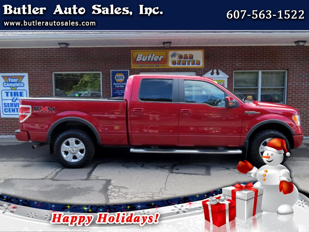2010 Ford F-150 FX4 SuperCab 5.5-ft Box 4WD