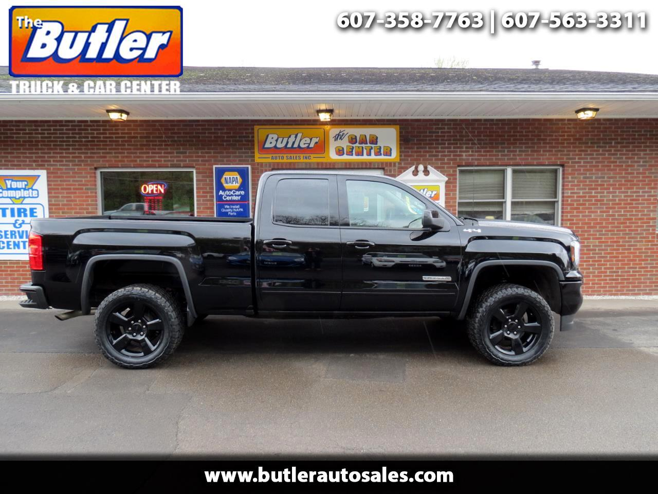 "2016 GMC Sierra 1500 4WD Double Cab 147"" Elevation"
