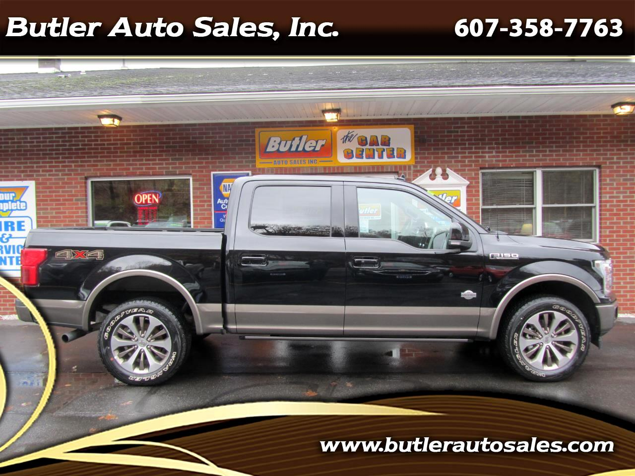 Ford F-150 King Ranch SuperCrew 6.5-ft. 4WD 2020
