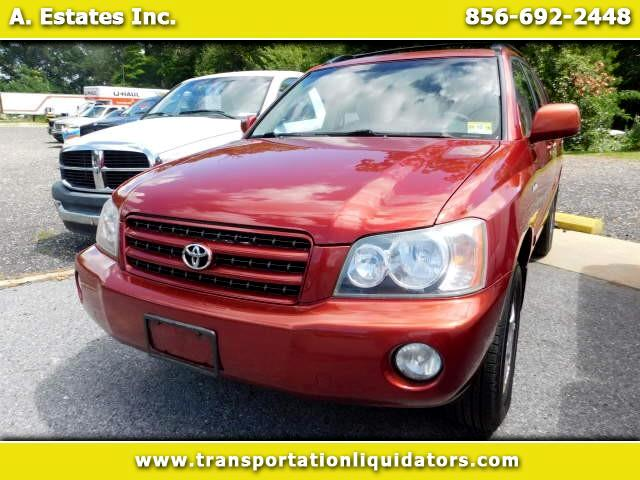 2003 Toyota Highlander AWD 4dr V6 Limited (Natl)