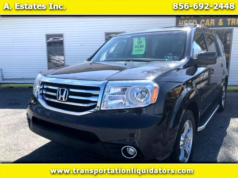 Honda Pilot 4WD EX Auto w/Leather 2013