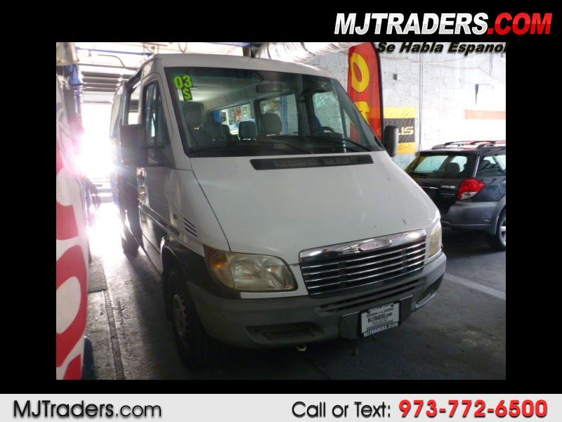 "2003 Dodge Sprinter Wagon 2500 Super High Ceiling 140"" WB"