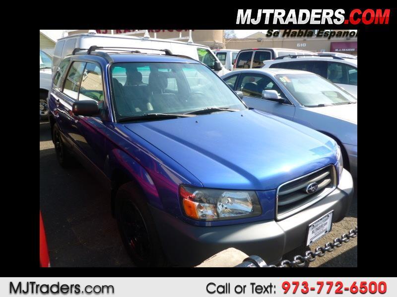 2004 Subaru Forester 2.5 X